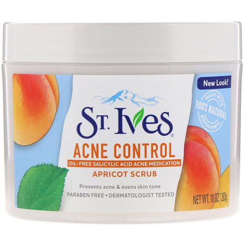 St. Ives, Acne Control Apricot Scrub, 10 oz (283 g) Review
