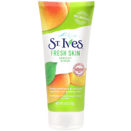 St. Ives, Fresh Skin Apricot Scrub, 6 oz (170 g) Review