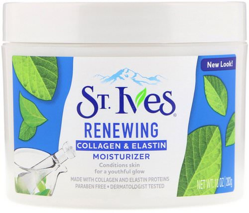 St. Ives, Renewing Collagen & Elastin Moisturizer, 10 oz (283 g) Review