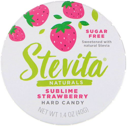 Stevita, Naturals, Sugar Free Hard Candy, Sublime Strawberry, 1.4 oz (40 g) Review
