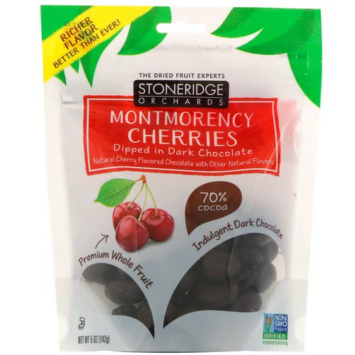 Stoneridge Orchards, Montmorency Cherries, Dipped in Dark Chocolate, 5 oz (142 g) Review