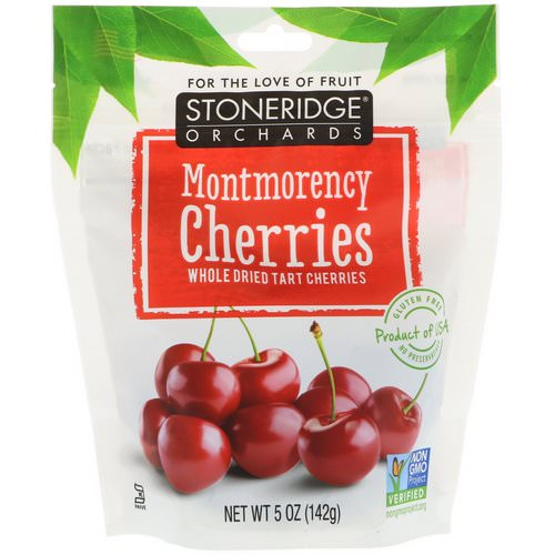 Stoneridge Orchards, Montmorency Cherries, Whole Dried Tart Cherries, 5 oz (142 g) Review