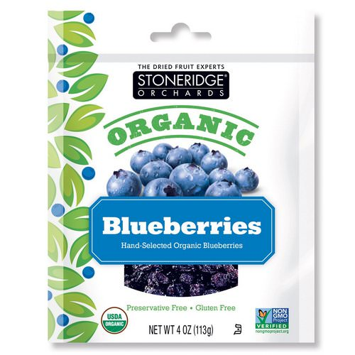 Stoneridge Orchards, Organic Blueberries, 4 oz (113 g) Review