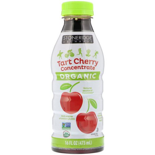 Stoneridge Orchards, Organic, Tart Cherry Concentrate, 16 fl oz (473 ml) Review