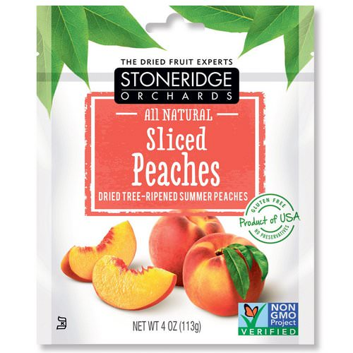 Stoneridge Orchards, Sliced Peaches, Dried Tree-Ripened Summer Peaches, 4 oz (113 g) Review
