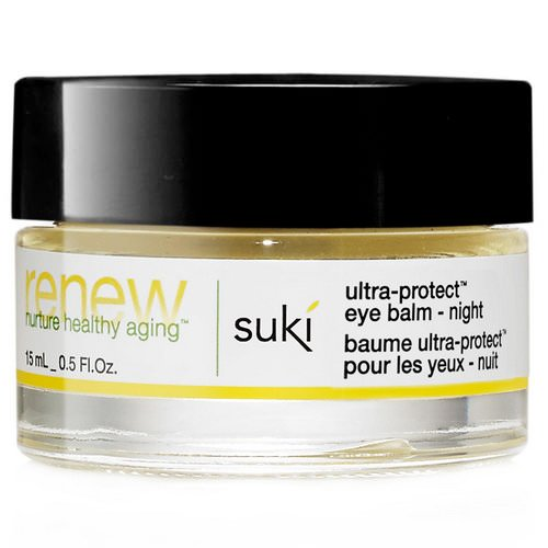 Suki, Renew, Ultra-Protect Eye Balm - Night, 0.5 fl oz (15 ml) Review