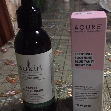 Sukin, Facial Moisturizer, 4.23 fl oz (125 ml) Review