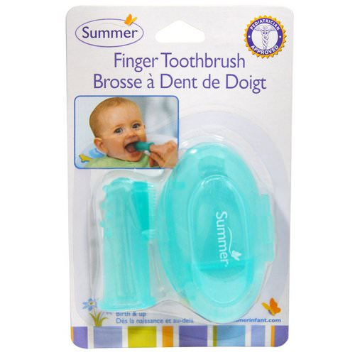 Summer Infant, Finger Toothbrush with Case Review