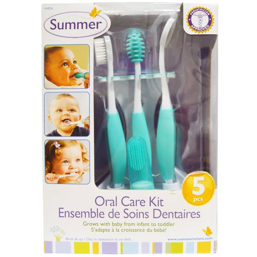 Summer Infant, Oral Care Kit, 5 Piece Kit Review