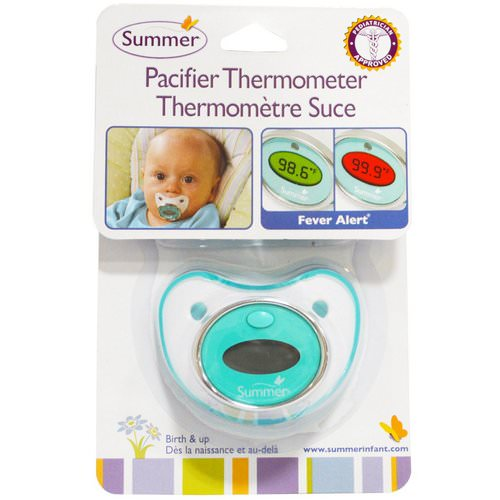 Summer Infant, Pacifier Thermometer, Birth and Up Review