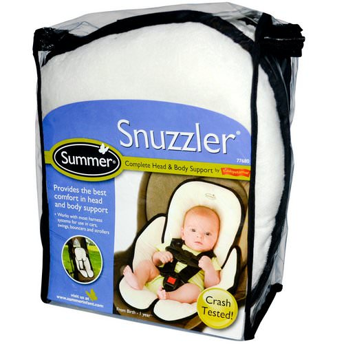 Summer Infant, Snuzzler, Complete Head & Body Support from Birth - 1 Year Review