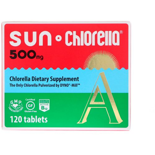 Sun Chlorella, A, 500 mg, 120 Tablets Review