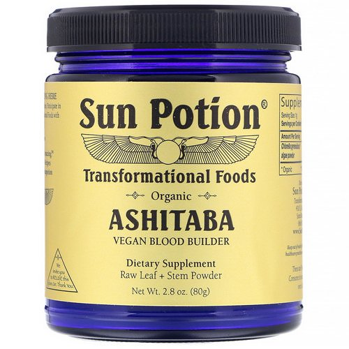 Sun Potion, Organic Ashitaba Powder, 2.8 oz (80 g) Review