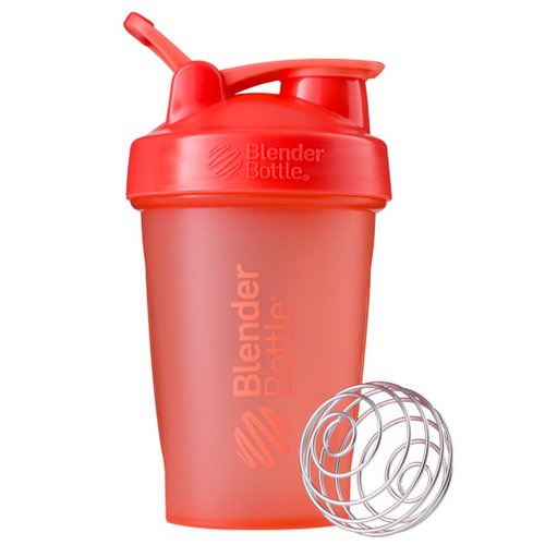 Blender Bottle, BlenderBottle, Classic With Loop, Coral, 20 oz Review