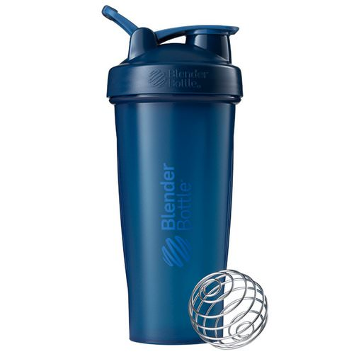 Blender Bottle, BlenderBottle, Classic With Loop, Navy, 28 oz Review