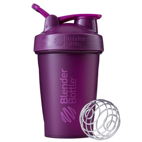 Blender Bottle, BlenderBottle, Classic With Loop, Plum, 20 oz Review