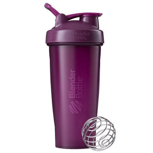 Blender Bottle, BlenderBottle, Classic With Loop, Plum, 28 oz Review