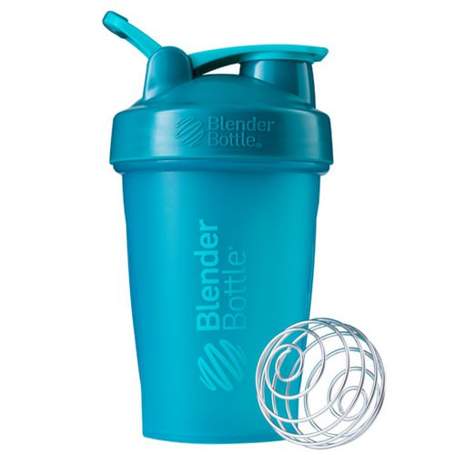 Blender Bottle, BlenderBottle, Classic With Loop, Teal, 20 oz Review