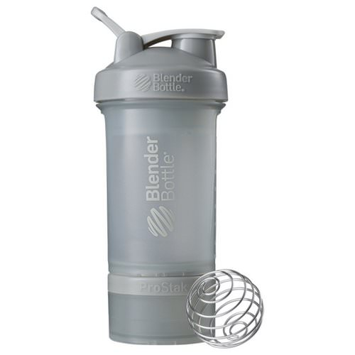 Blender Bottle, BlenderBottle, ProStak, Pebble Grey, 22 oz Review