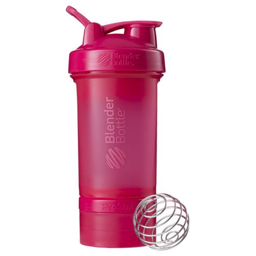 Blender Bottle, BlenderBottle, ProStak, Pink, 22 oz Review