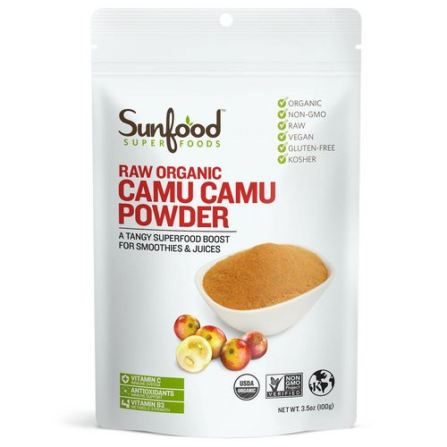 Sunfood, Raw Organic Camu Camu Powder, 3.5 oz (100 g) Review