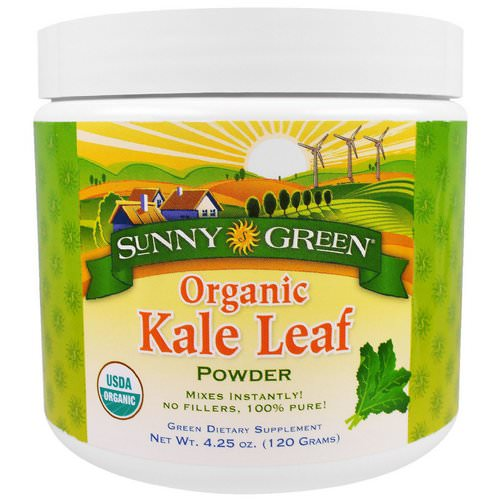 Sunny Green, Organic Kale Leaf Powder, 4.25 oz (120 g) Review