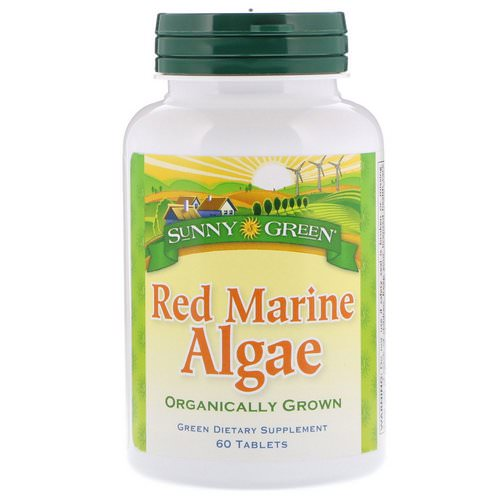 Sunny Green, Red Marine Algae, 60 Tablets Review