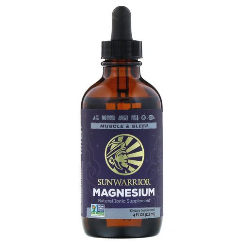 Sunwarrior, Magnesium, 4 fl oz (118 ml) Review
