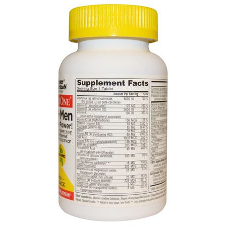 Men's Multivitamins, Men's Health, Supplements