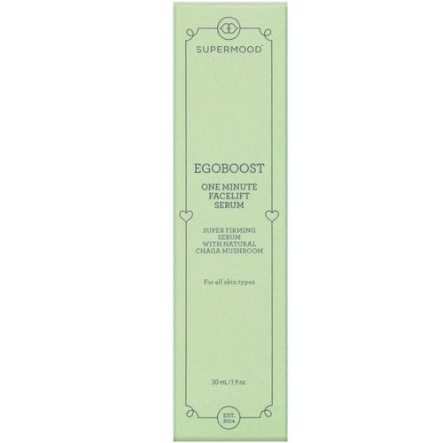 Supermood, Egoboost, One Minute Facelift Serum, 1 fl oz (30 ml) Review