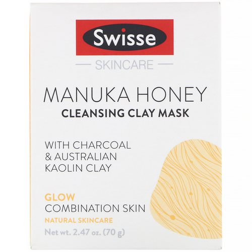 Swisse, Skincare, Manuka Honey Cleansing Clay Mask, 2.47 oz (70 g) Review