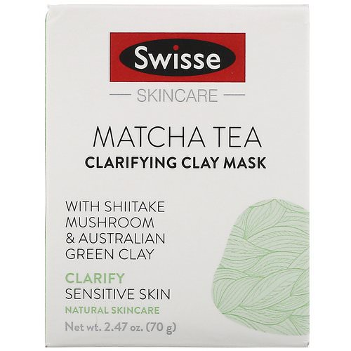 Swisse, Skincare, Matcha Tea Clarifying Clay Mask, 2.47 oz (70 g) Review