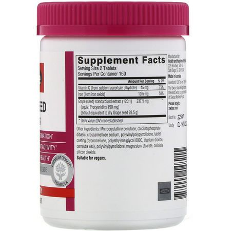 Grape Seed Extract, Antioxidants, Supplements
