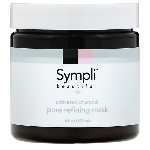 Sympli Beautiful, Activated Charcoal Pore Refining Mask, 4 fl oz (120 ml) Review