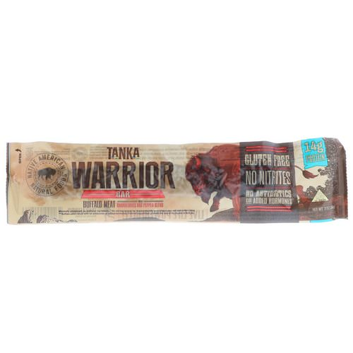 Tanka, Warrior Bar, Buffalo Meat with Cranberries and Pepper Blend, 2 oz (56 g) Review