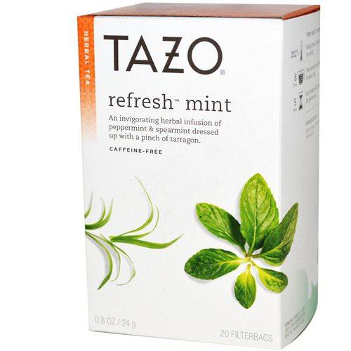 Tazo Teas Peppermint Tea Refresh Mint