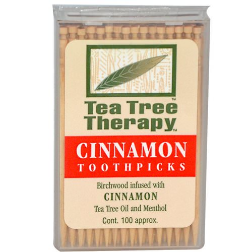 Tea Tree Therapy, Cinnamon Toothpicks, 100 Approx. Review