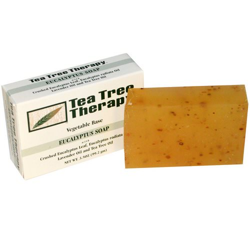 Tea Tree Therapy, Eucalyptus Soap, 3.5 oz (99.2 g) Bar Review