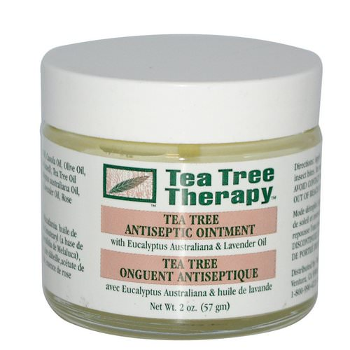 Tea Tree Therapy, Tea Tree Antiseptic Ointment, 2 oz (57 g) Review
