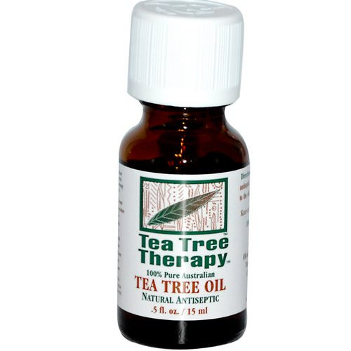 Tea Tree Therapy, Tea Tree Oil, .5 fl oz (15 ml) Review