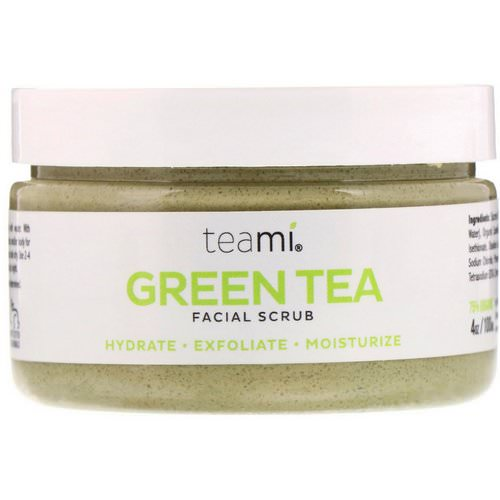 Teami, Green Tea Facial Scrub, 4 oz (100 ml) Review