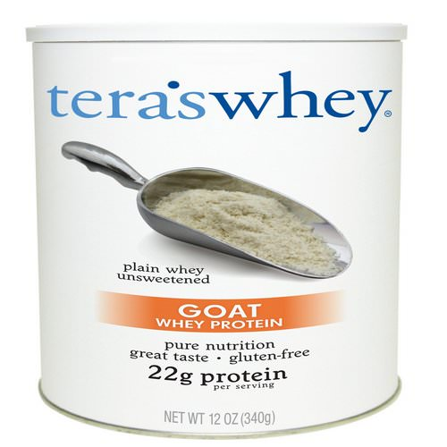 Tera's Whey, Goat Whey Protein, Plain Whey Unsweetened, 12 oz (340 g) Review