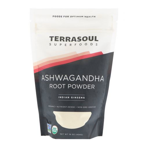 Terrasoul Superfoods, Ashwagandha Root Powder, Indian Ginseng, 16 oz (454 g) Review
