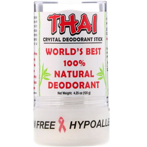 Thai Deodorant Stone, Thai Crystal Deodorant Stick, 4.25 oz (120 g) Review