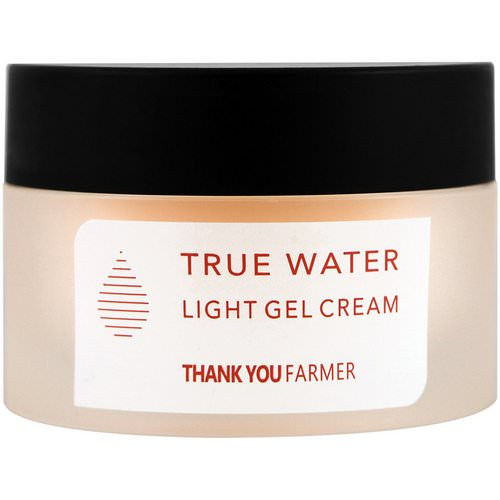 Thank You Farmer, True Water, Light Gel Cream, All Skin Types, 1.75 fl oz (50 ml) Review