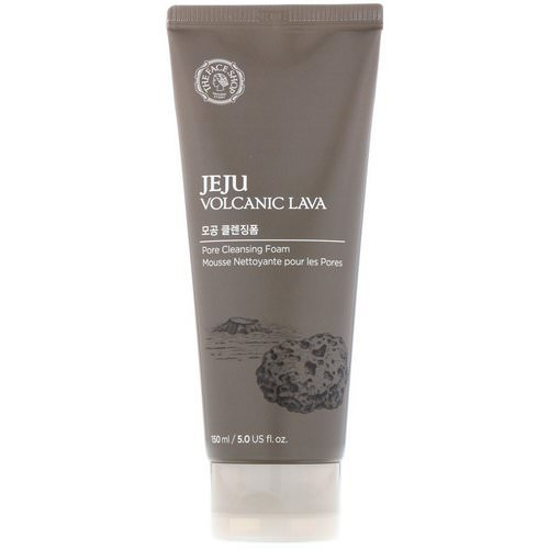 The Face Shop, Jeju Volcanic Lava, Pore Cleansing Foam, 5 fl oz (150 ml) Review