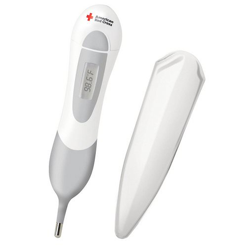 The First Years, American Red Cross, Multi-Use Digital Thermometer, Birth +, 1 Piece Review
