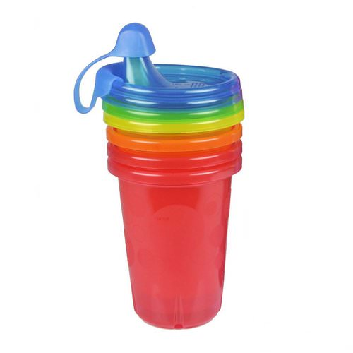 The First Years, Take & Toss, Sippy Cups, 9+ Months, 4 Pack - 10 oz (296 ml) Each Review