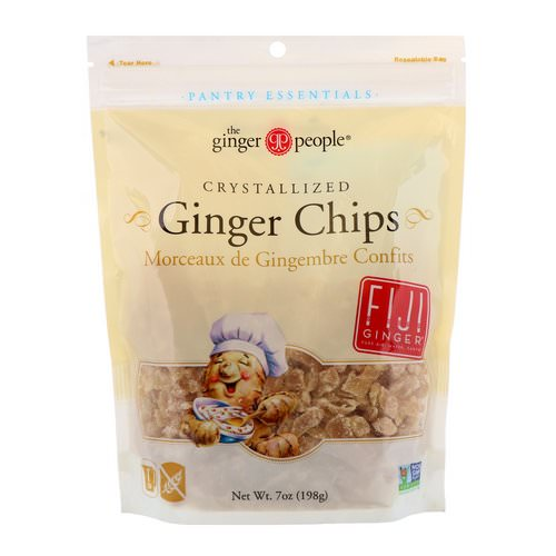 The Ginger People, Crystallized Ginger Chips, 7 oz (198 g) Review