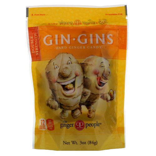 The Ginger People, Gin Gins, Hard Ginger Candy, Double Strength, 3 oz (84 g) Review